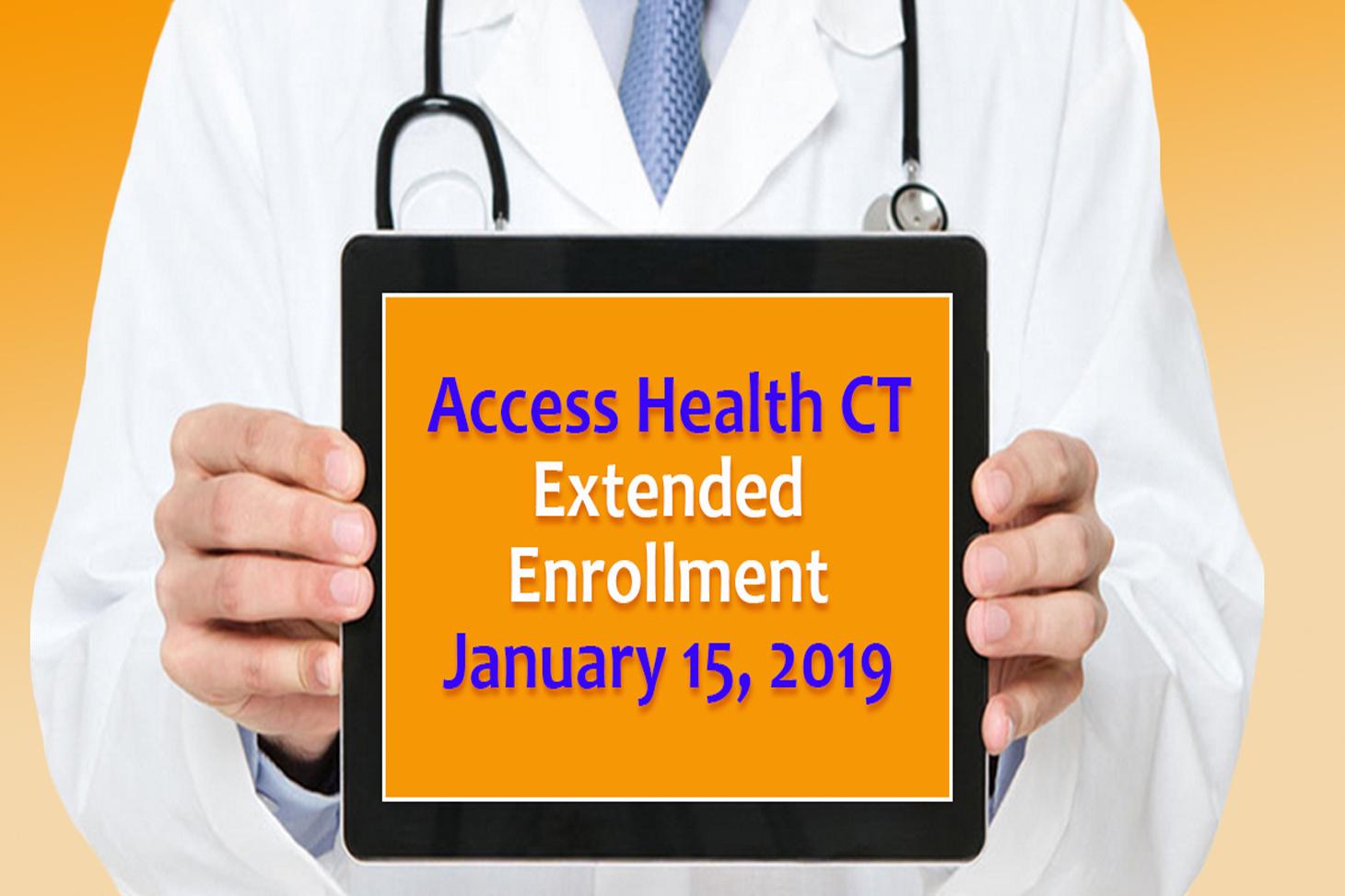 Access Health Ct Deadline Extension Connecticut House Democrats