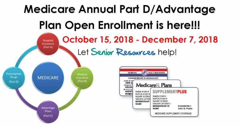 Medicare Open Enrollment is Here