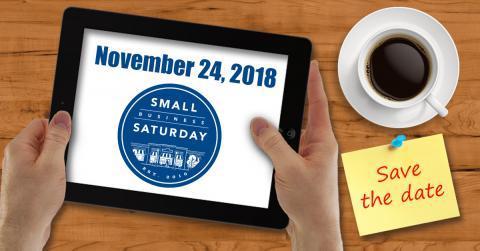 Let's Celebrate Small Business Saturday
