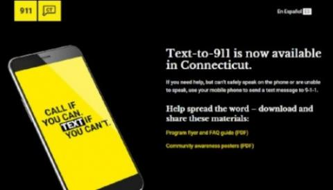 CT launches TEXT-TO-911 capability