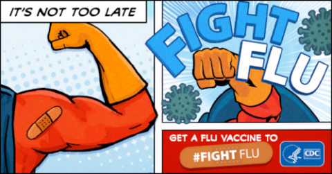 It's not too late to get your flu shot