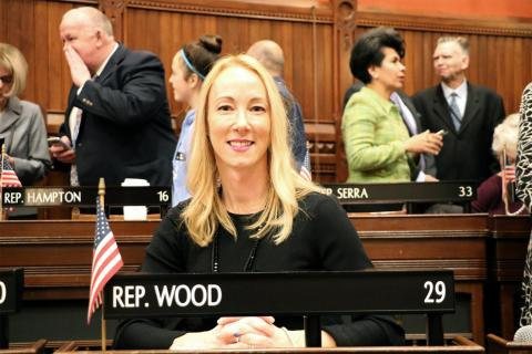 Rep. Kerry Wood Sworn In To Connecticut General Assembly
