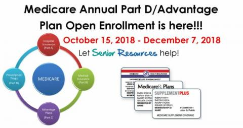 Medicare Open Enrollment is Here