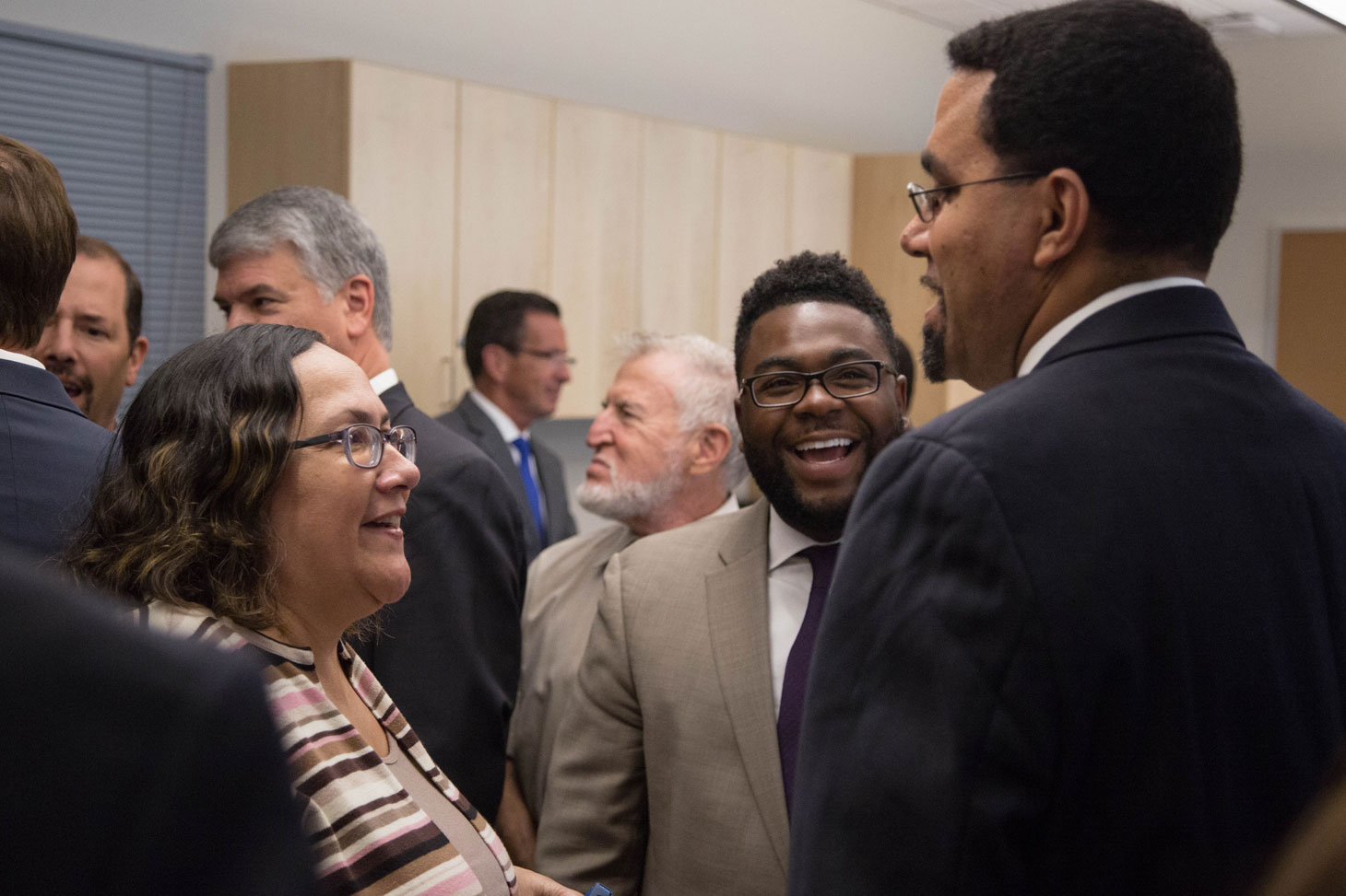 Rep. McGee with the U.S. Secretary of Education