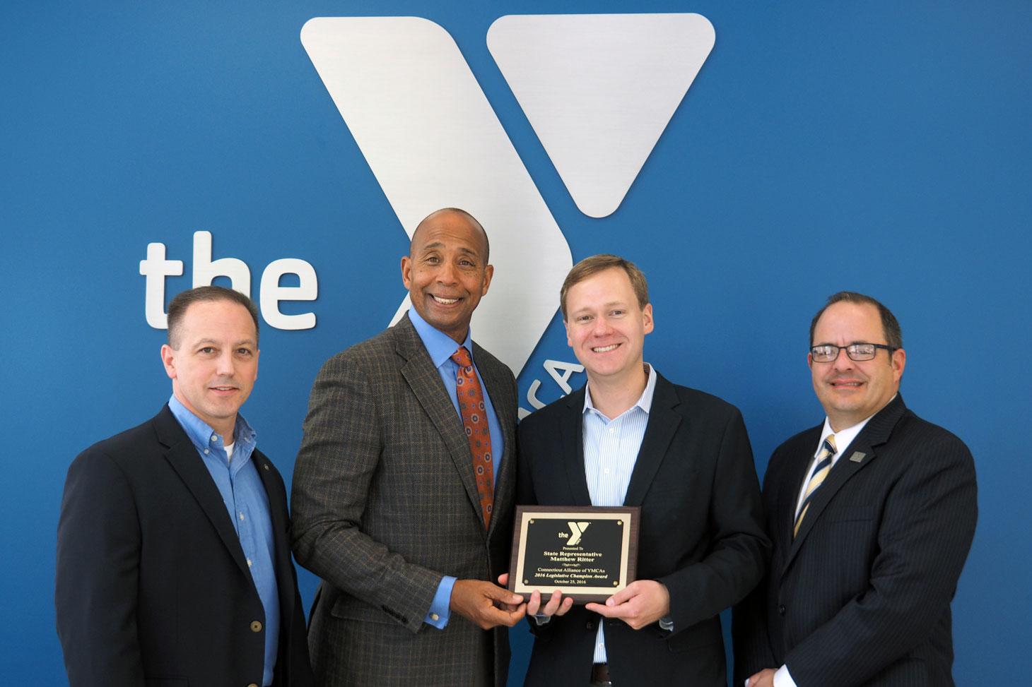 Rep. Ritter Receives the 2016 Legislative Champion Award