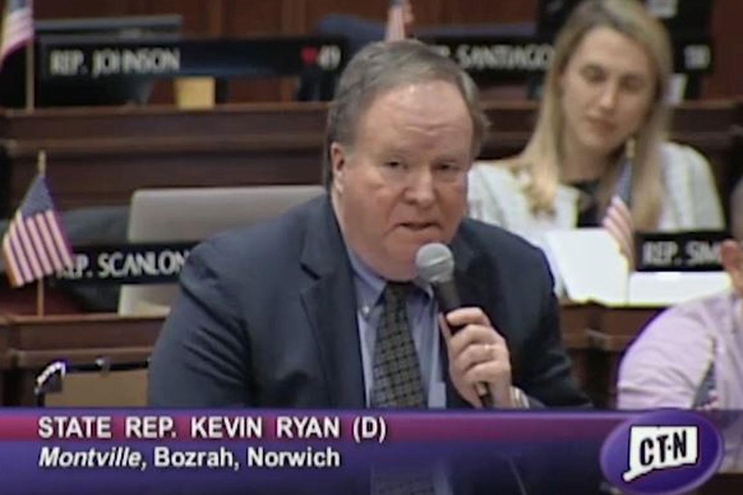 Rep. Ryan Speaks on HB 5450
