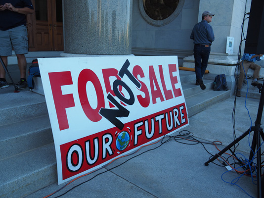 Our Future: Not For Sale