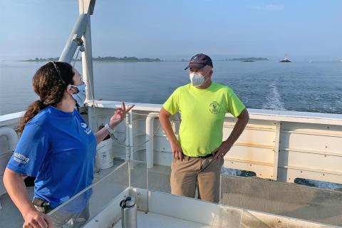 Rep. Gresko joins outing on research vessel
